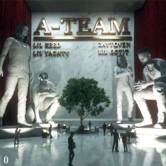 (Cover Art) Lil Yachty x Lil Keed x Lil Gotit x Zaytoven - A-Team (You Ain't Safe)